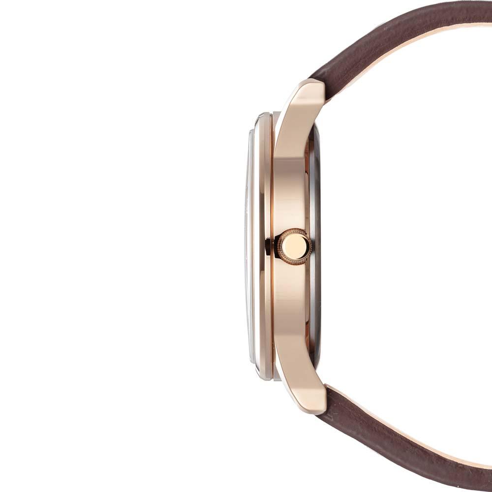 Citizen BV1116-12A zegarek różowe złoto klasyczny Ecodrive pasek