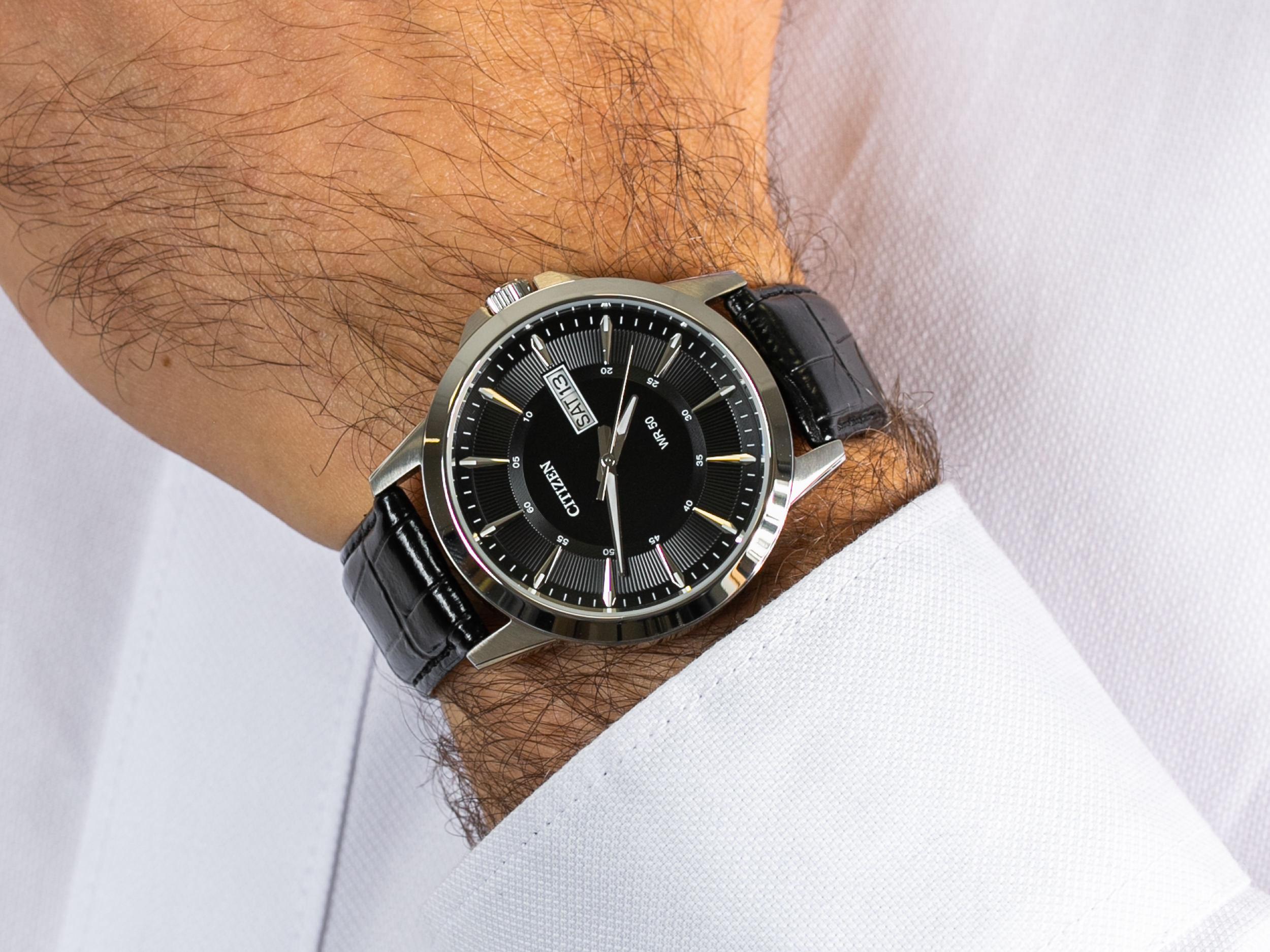 Citizen BF2011-01EE zegarek klasyczny Leather