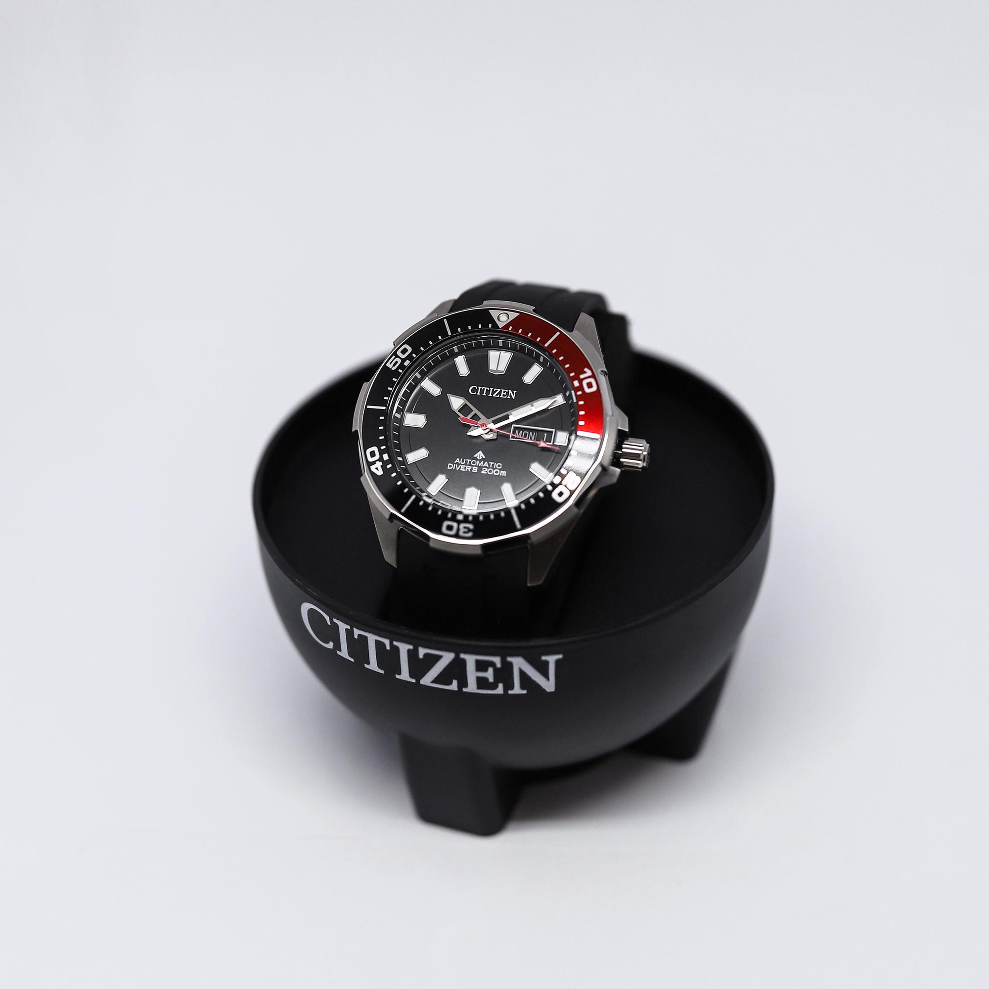 Citizen NY0076-10EE zegarek męski klasyczny Promaster pasek