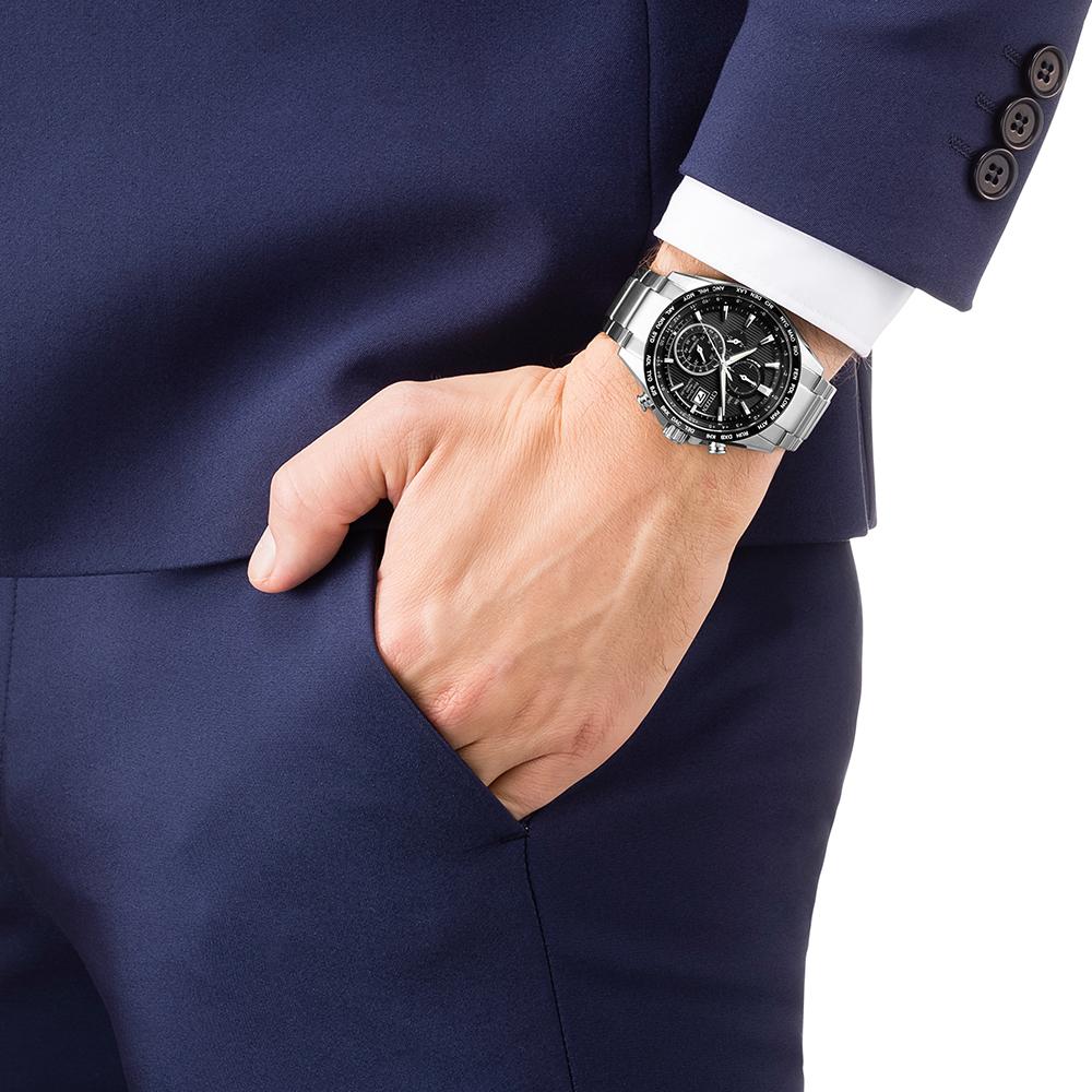 Citizen AT8154-82E zegarek luksusowy Radio Controlled
