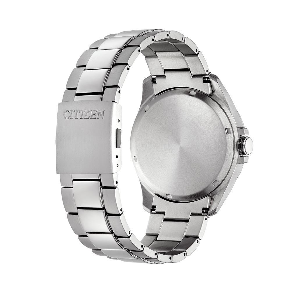 Citizen BM7470-84L zegarek srebrny klasyczny Titanium bransoleta