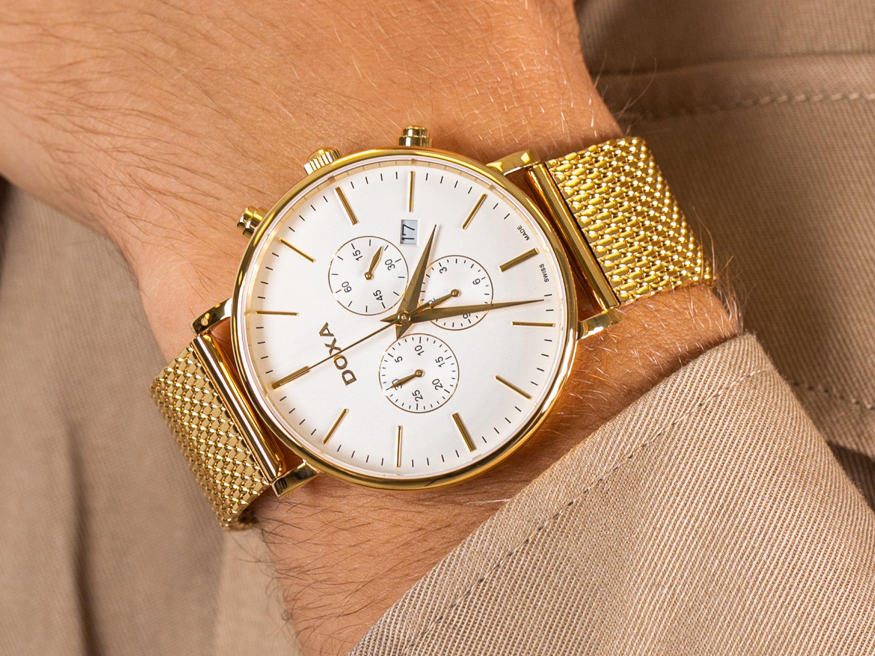 Doxa 172.30.011.211 zegarek klasyczny D-Light