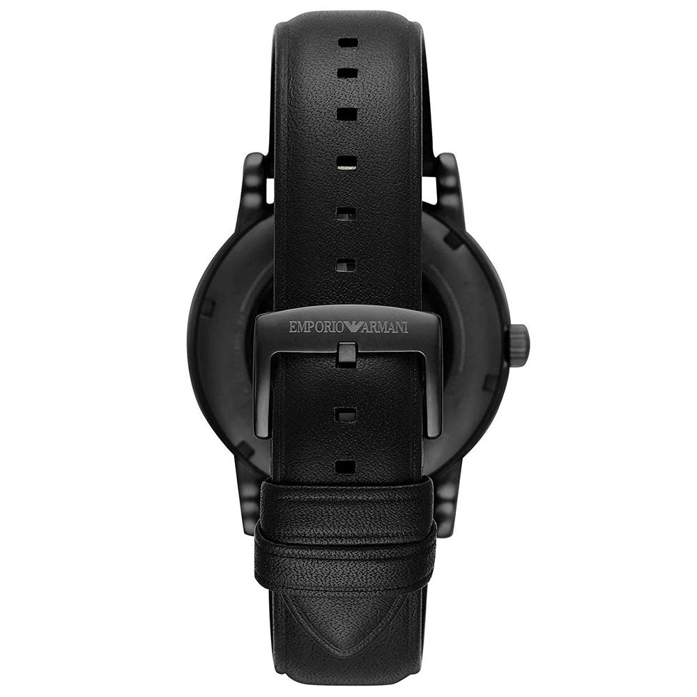 Emporio Armani AR60012 męski zegarek Meccanico pasek