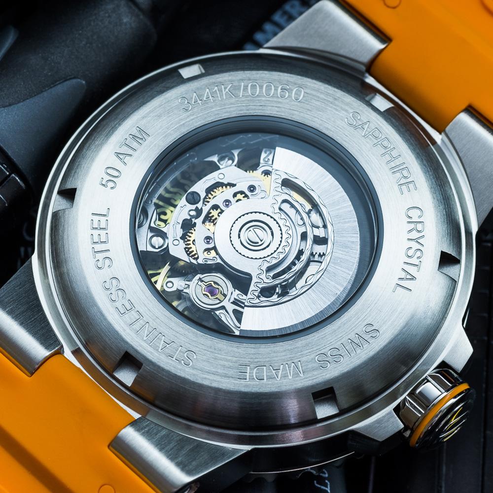 Epos 3441.135.99.15.52 zegarek srebrny klasyczny Sportive pasek