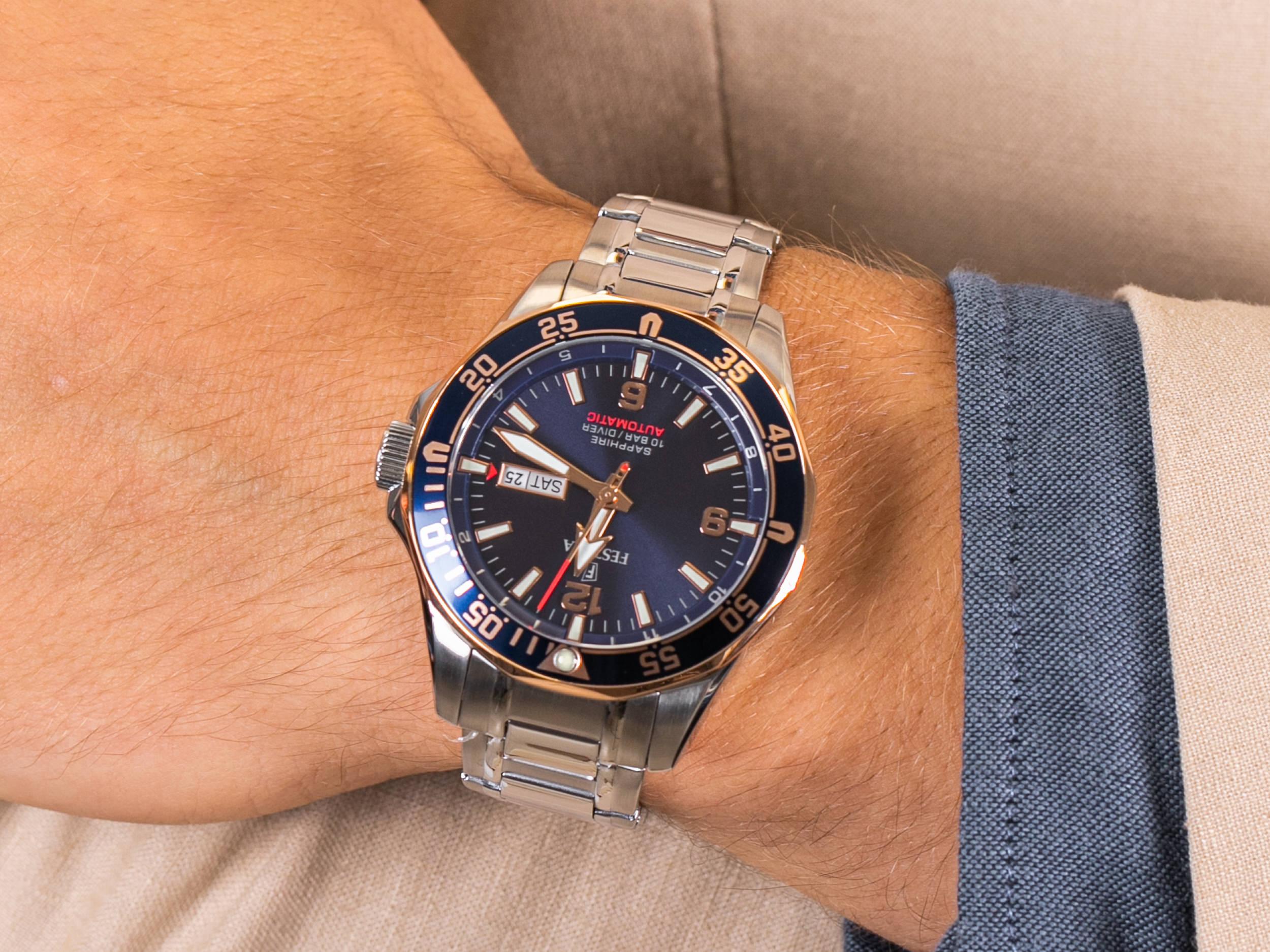 Festina F20478-3 Diver Sapphire Automatic zegarek sportowy Sport