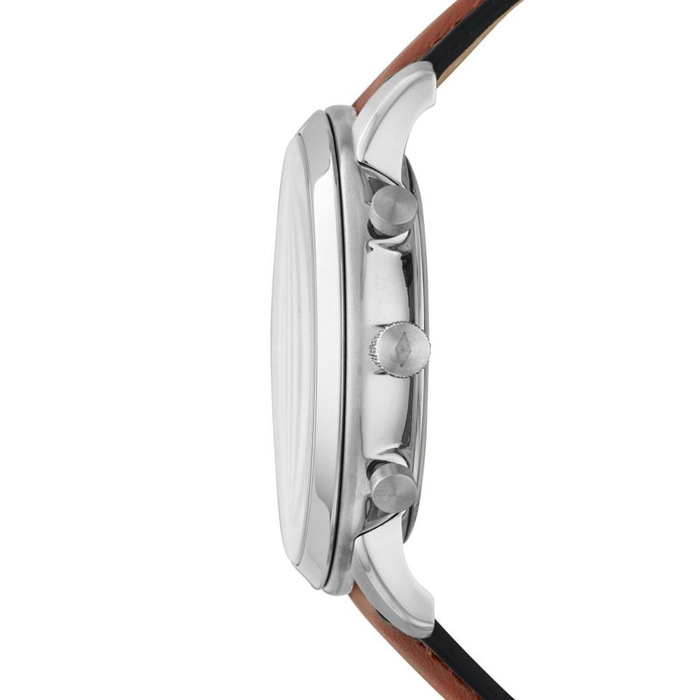 Fossil FS5708SET zegarek srebrny fashion/modowy Neutra pasek