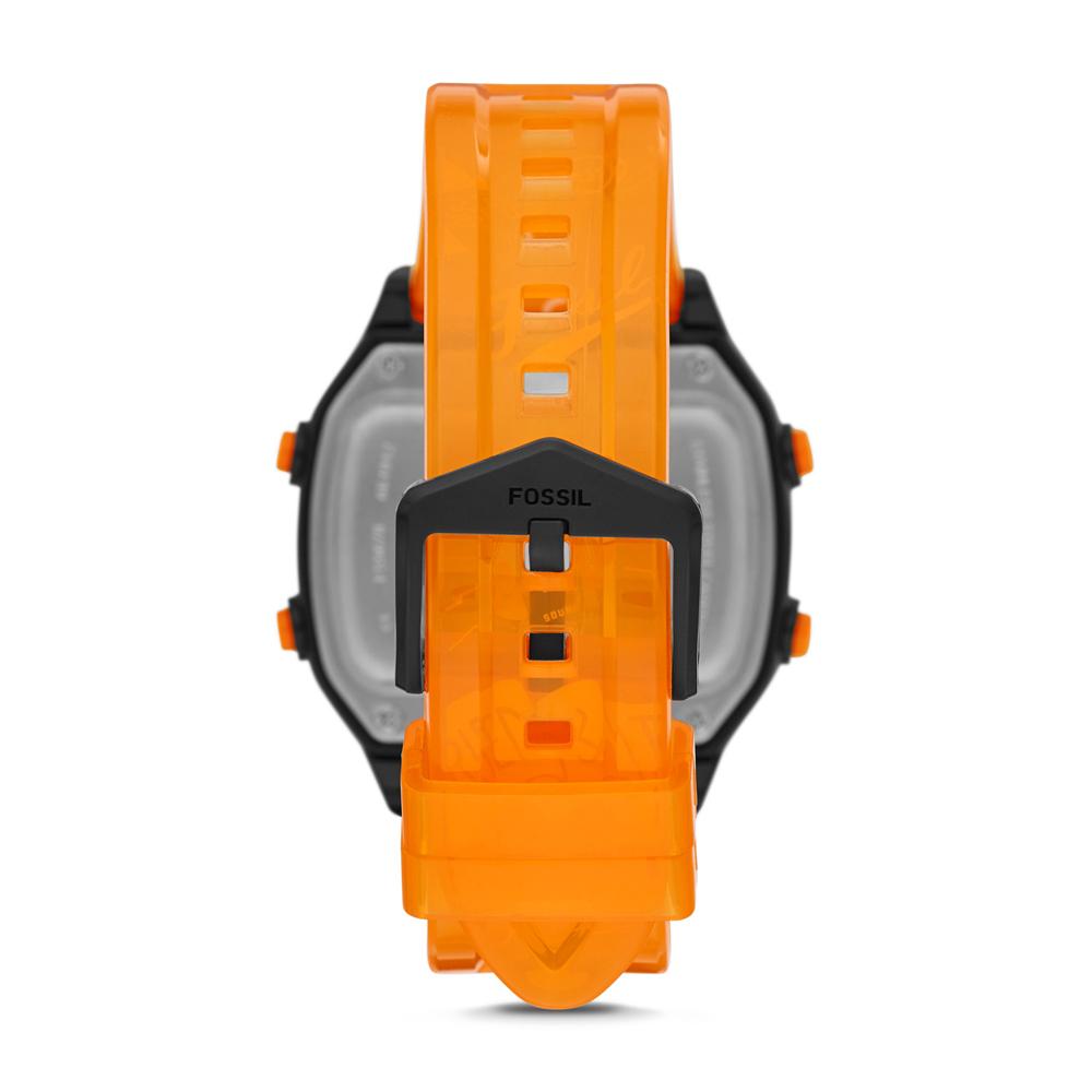 Fossil FS5678 męski zegarek Retro Digital LCD pasek