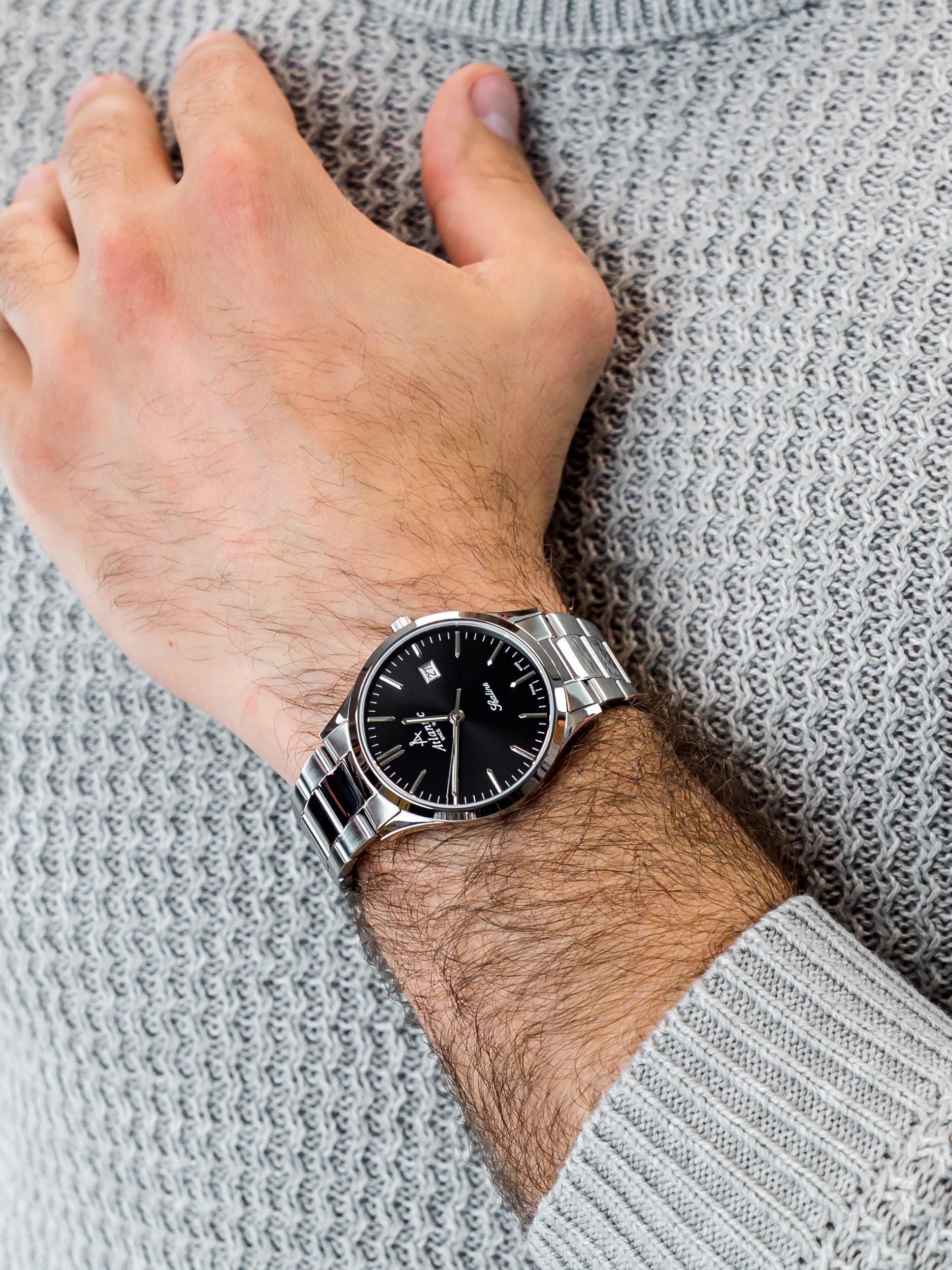 Atlantic 62346.41.61 męski zegarek Sealine bransoleta