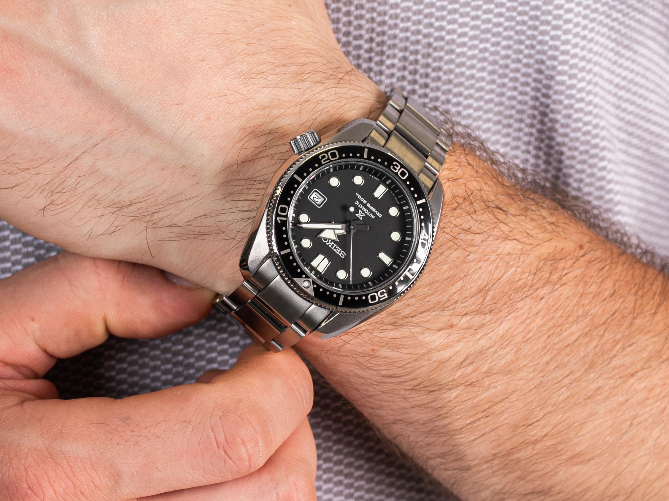 Seiko SPB077J1 Prospex 1968 Divers 200m Automatic zegarek klasyczny Prospex