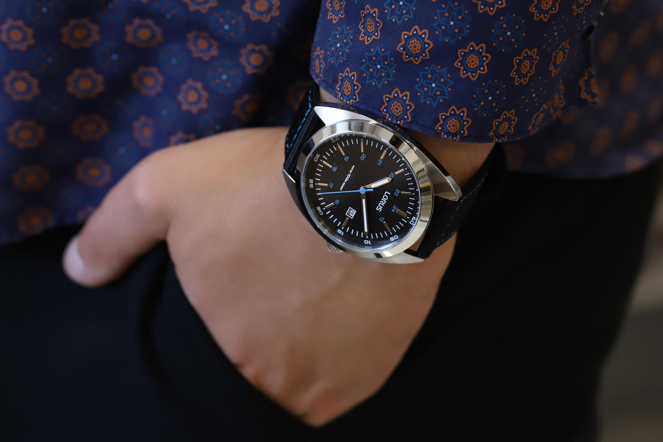 Lorus RH953KX9 zegarek męski Klasyczne