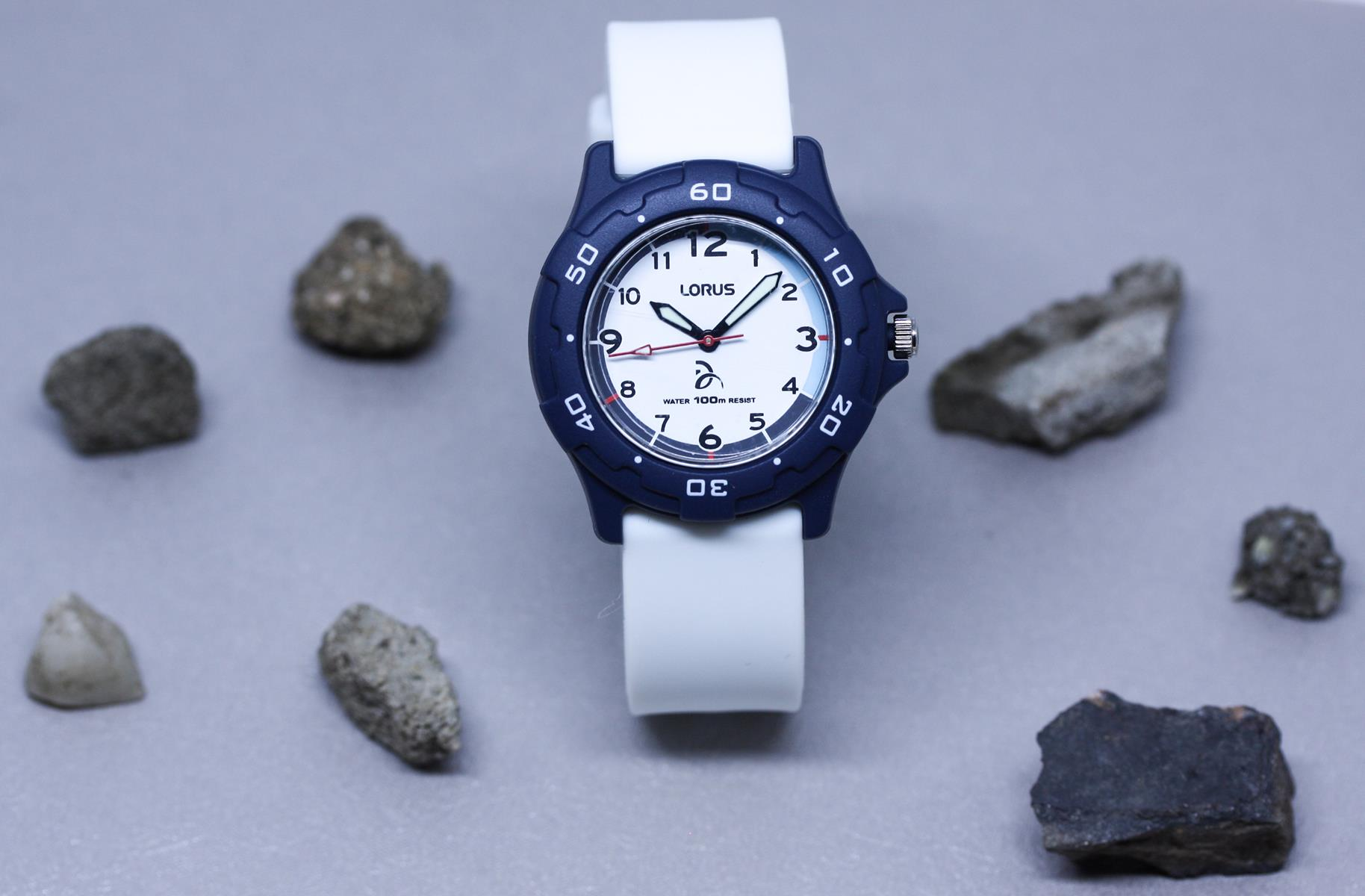 Lorus RRX29GX9 zegarek niebieski sportowy Dla dzieci pasek