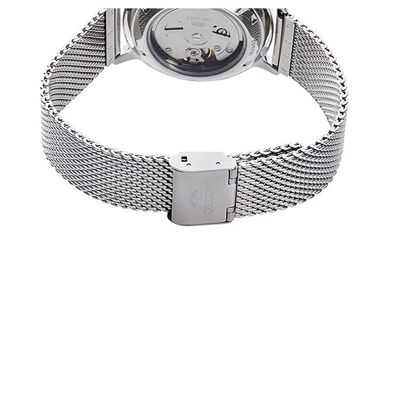 Orient RA-AC0E07S10B zegarek srebrny klasyczny Contemporary bransoleta