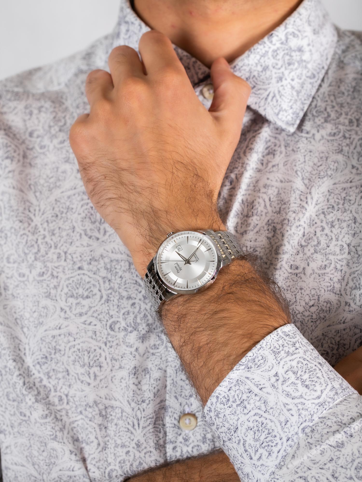 Pierre Ricaud P60029.5113A męski zegarek Automatic bransoleta