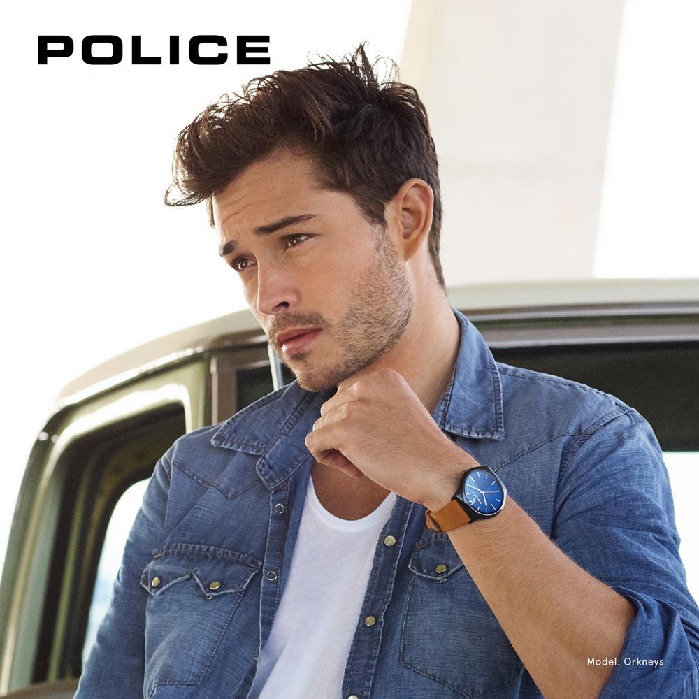 Police PL.15918JSB-03 zegarek męski Pasek