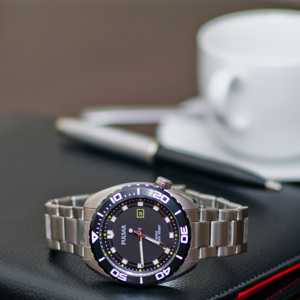 Pulsar PG8283X1 męski zegarek Klasyczne bransoleta