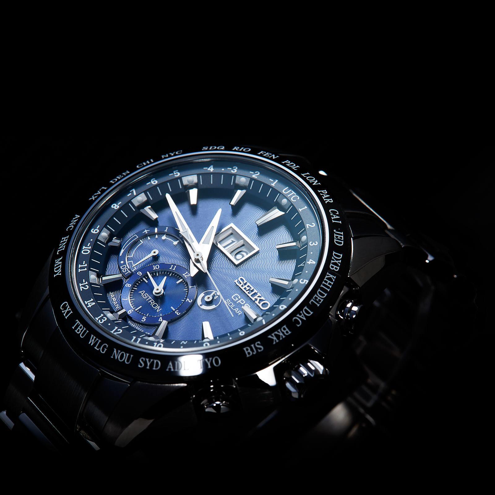 Seiko SSE147J1 Astron GPS Solar zegarek luksusowy Astron