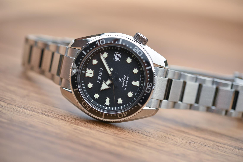 Seiko SPB077J1 Prospex Prospex 1968 Divers 200m Automatic zegarek męski klasyczny szafirowe