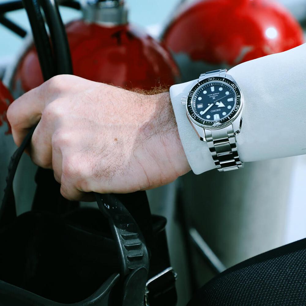 zegarek Seiko SPB077J1 automatyczny męski Prospex Prospex 1968 Divers 200m Automatic