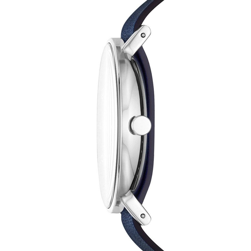 Skagen SKW6478 zegarek srebrny klasyczny Aaren pasek