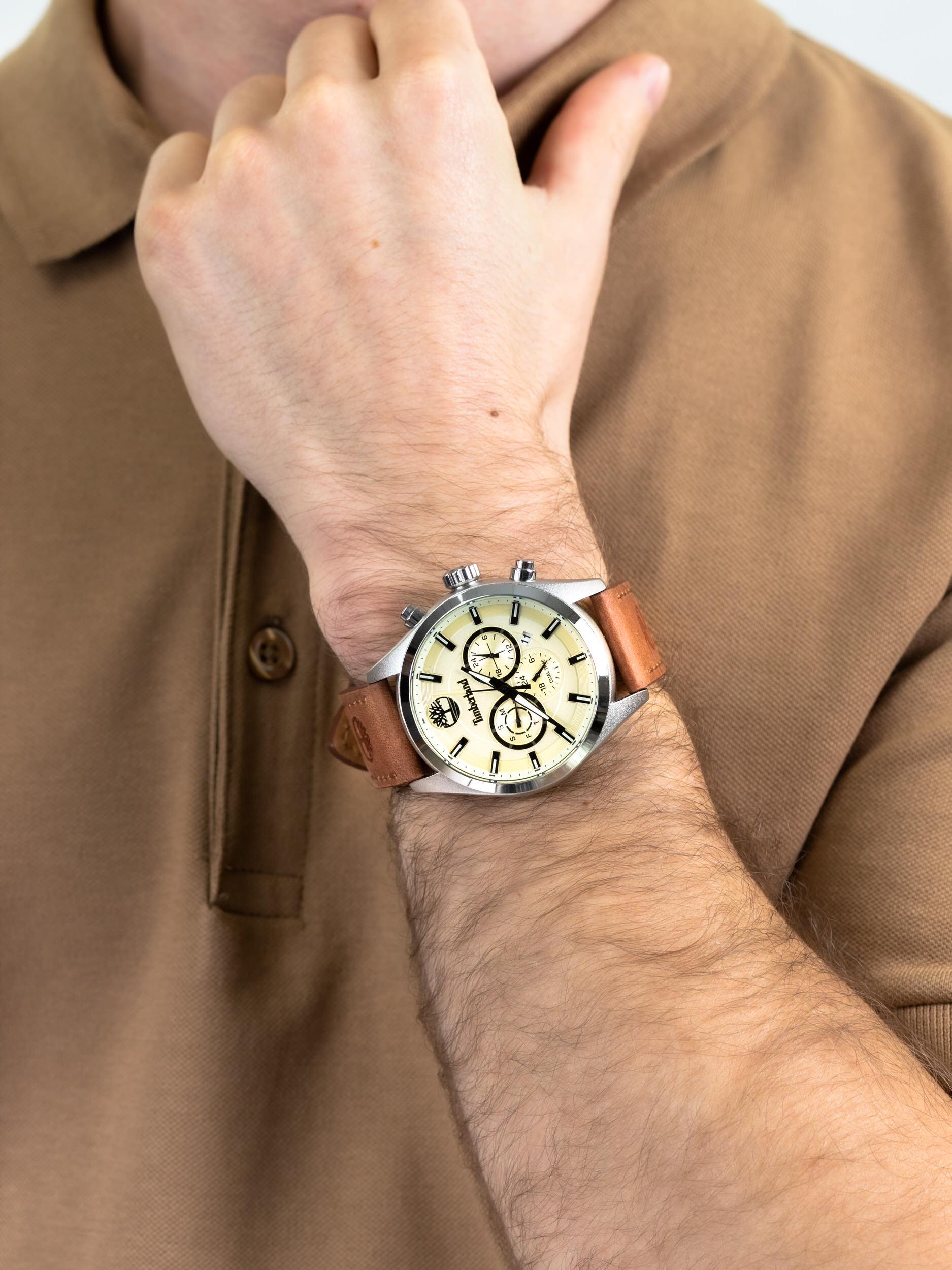 Timberland TBL.16062JYS-14 męski zegarek Ashmont pasek