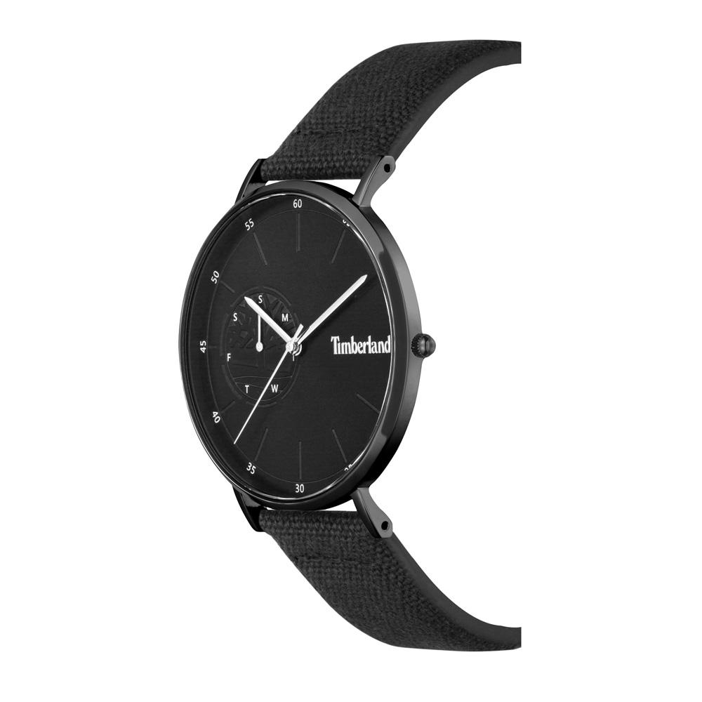 Timberland TBL.15489JSB-02 zegarek czarny klasyczny Chelmsford pasek