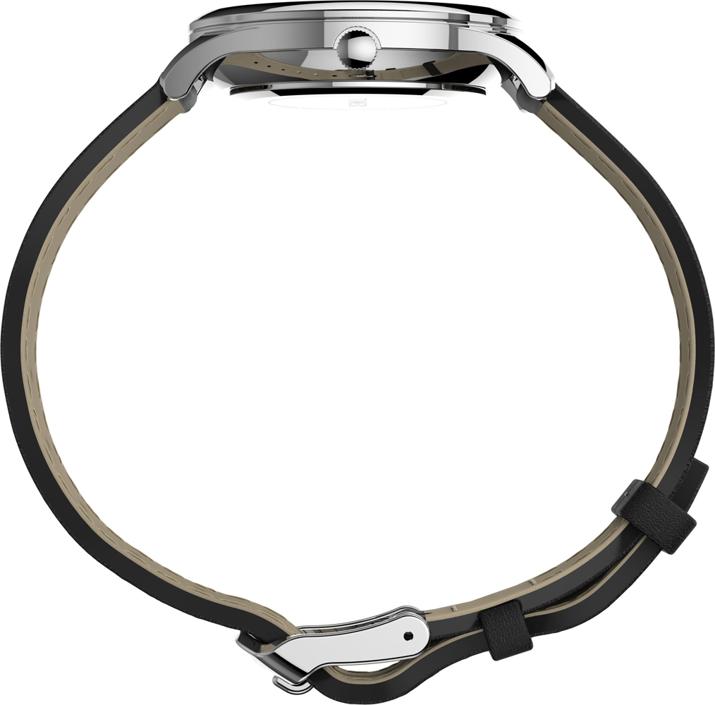Timex TW2T72100 zegarek srebrny klasyczny Easy Reader pasek
