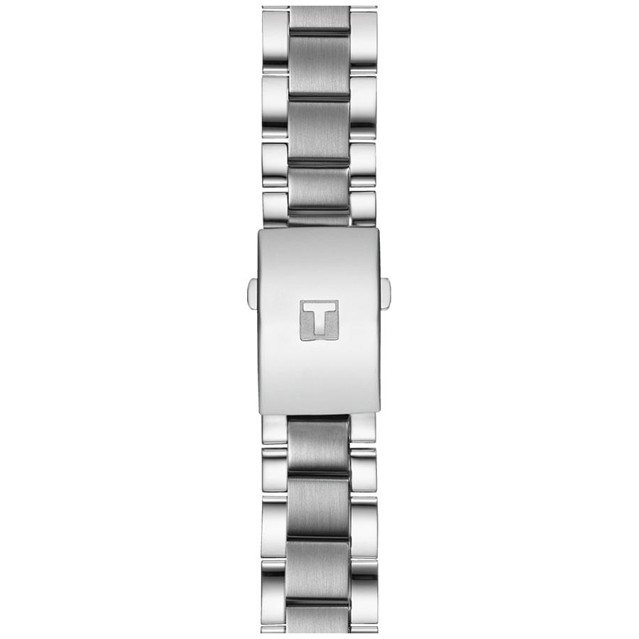 Tissot T116.617.11.047.01 zegarek srebrny sportowy Chrono XL bransoleta