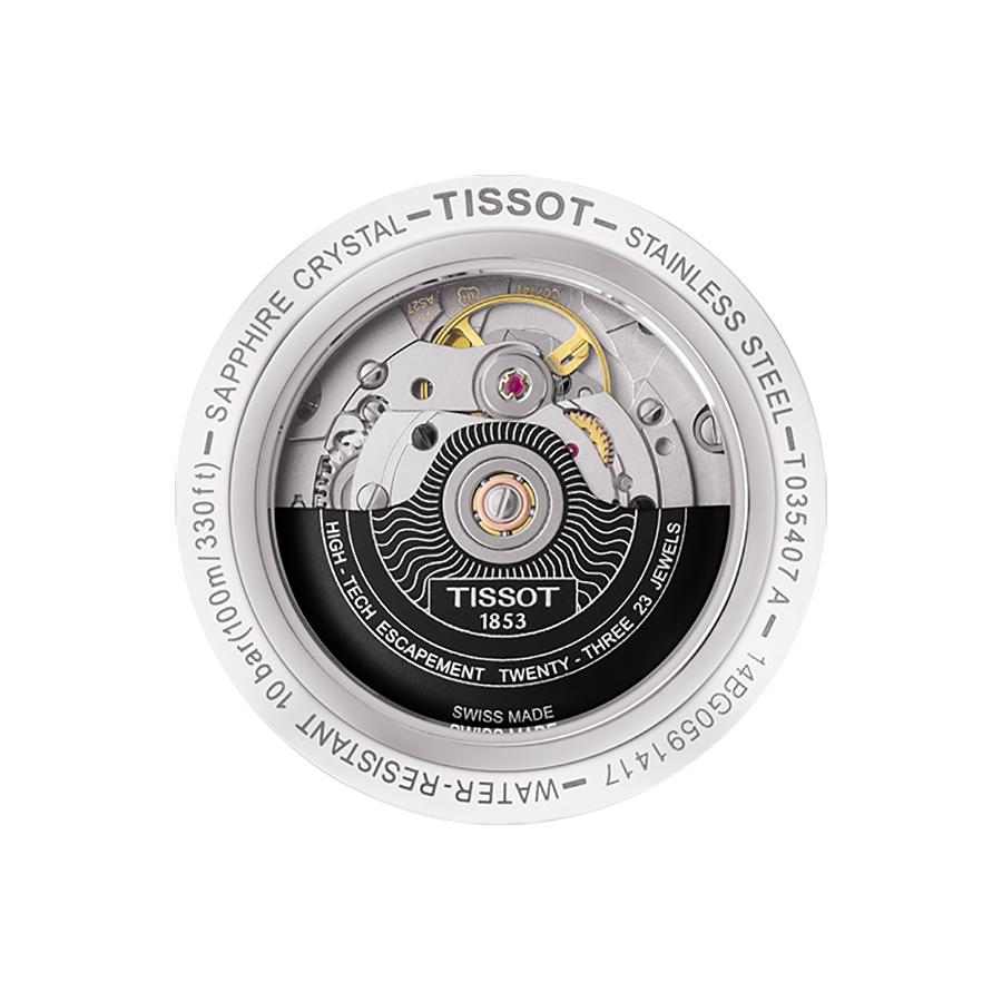Tissot T035.407.16.051.03 męski zegarek Couturier pasek