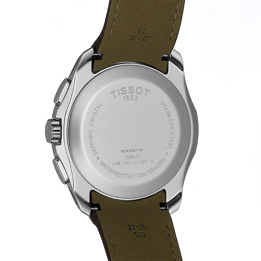 Tissot T035.617.16.031.00 COUTURIER CHRONOGRAPH zegarek klasyczny Couturier