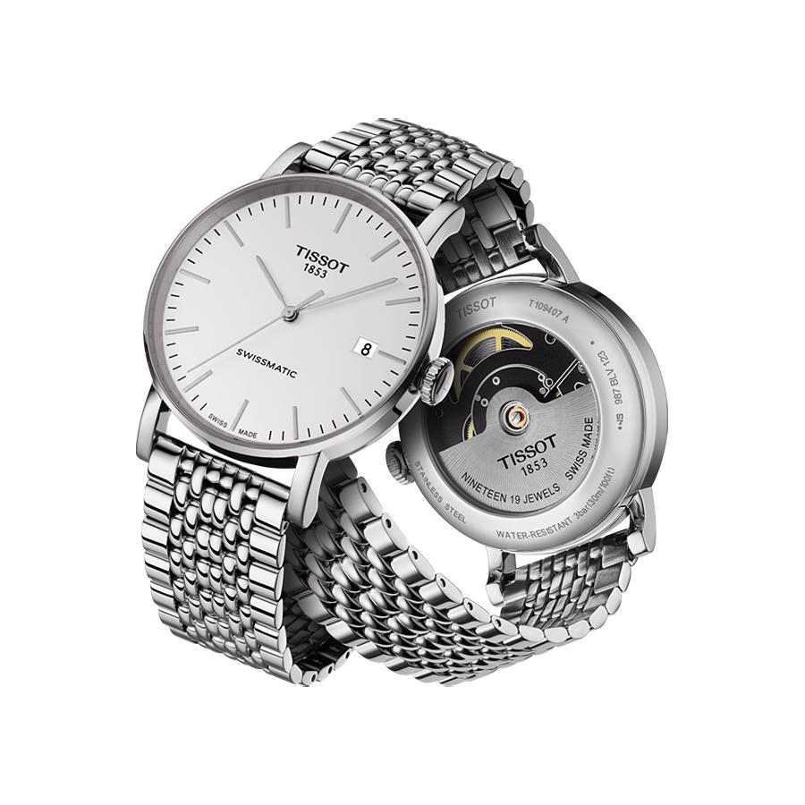 Tissot T109.407.11.031.00 męski zegarek Everytime bransoleta