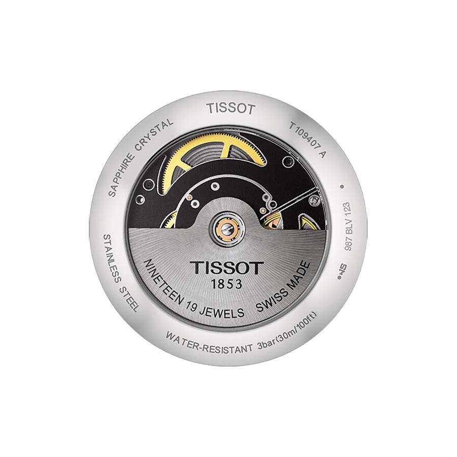 Tissot T109.407.16.031.00 męski zegarek Everytime pasek