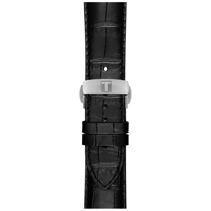 Tissot T086.407.16.051.00 Luxury LUXURY POWERMATIC 80 zegarek męski klasyczny szafirowe