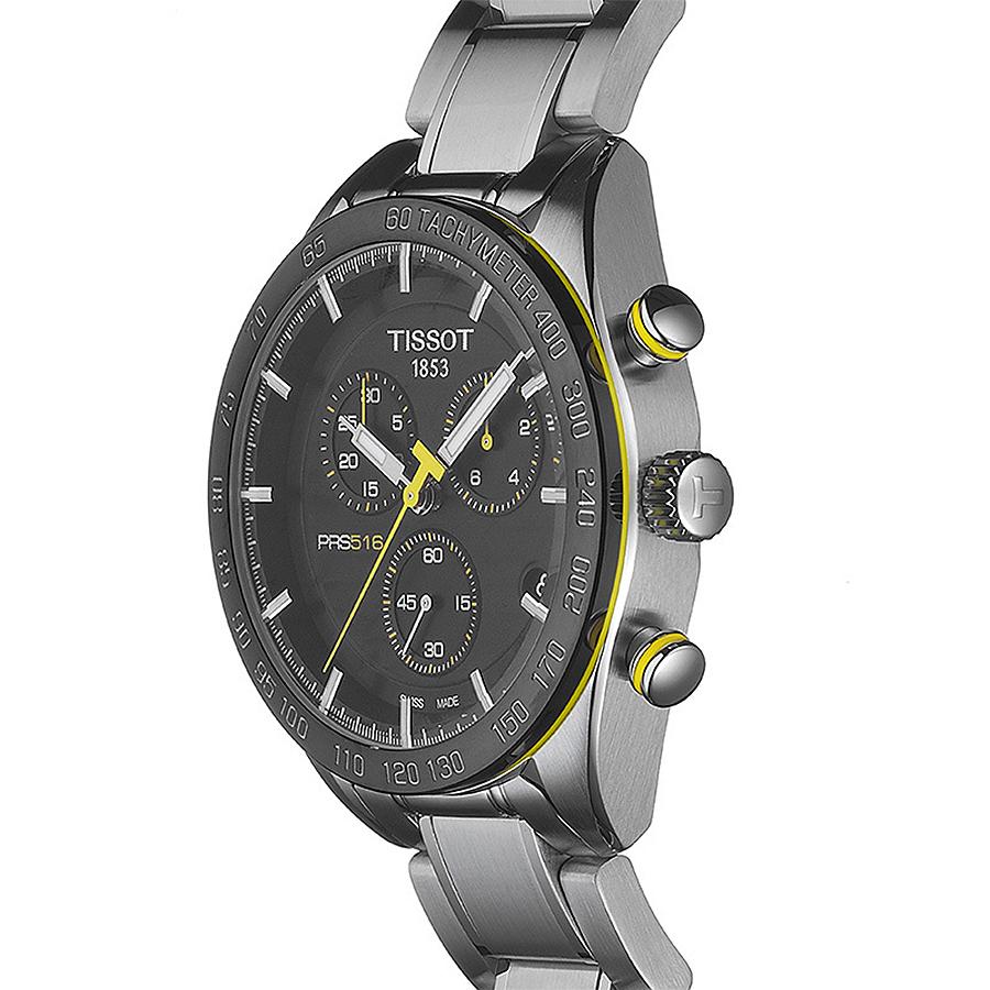 zegarek Tissot T100.417.11.051.00 PRS 516 CHRONOGRAPH męski z chronograf PRS 516