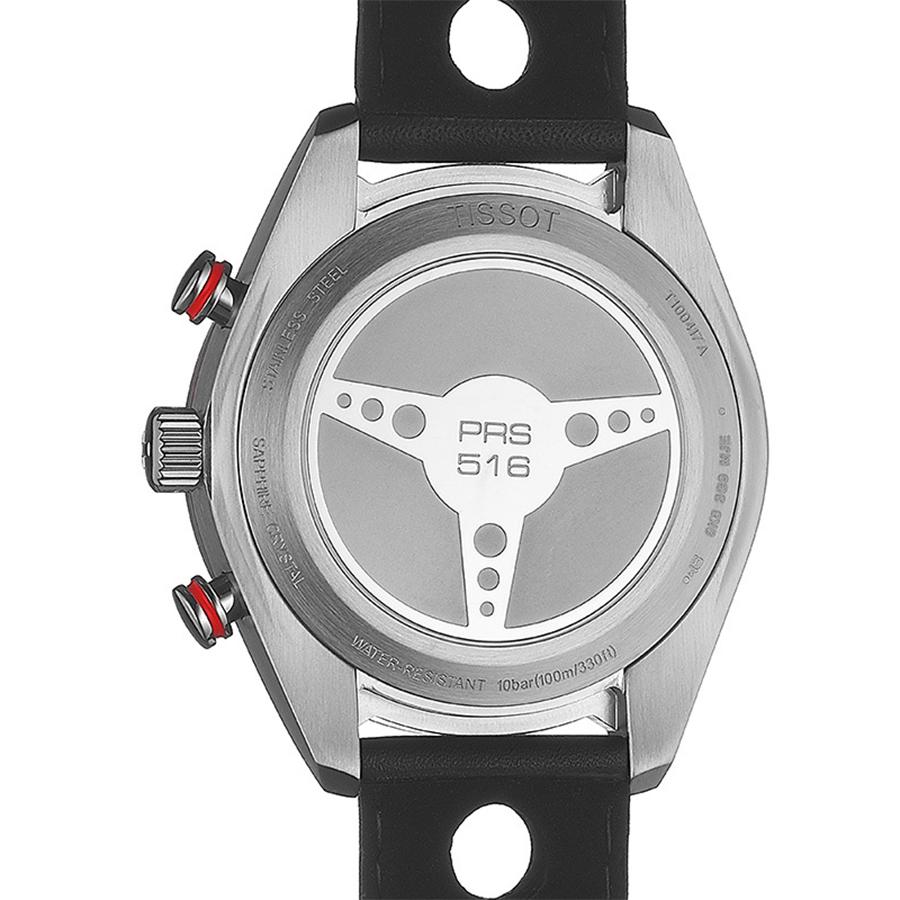 zegarek Tissot T100.417.16.051.00 kwarcowy męski PRS 516 PRS 516 CHRONOGRAPH