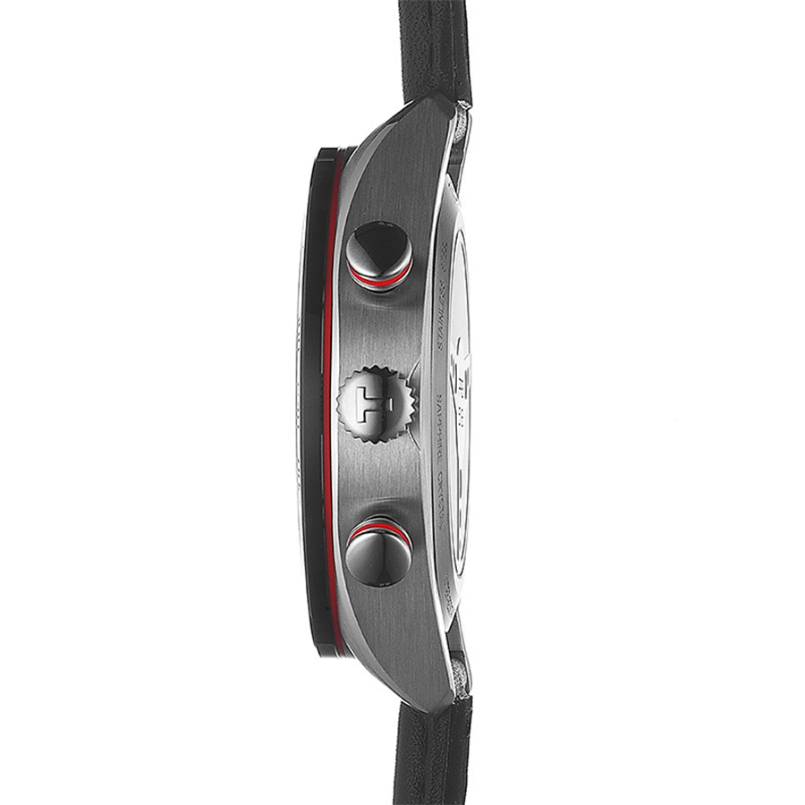 Tissot T100.417.16.051.00 zegarek srebrny klasyczny PRS 516 pasek