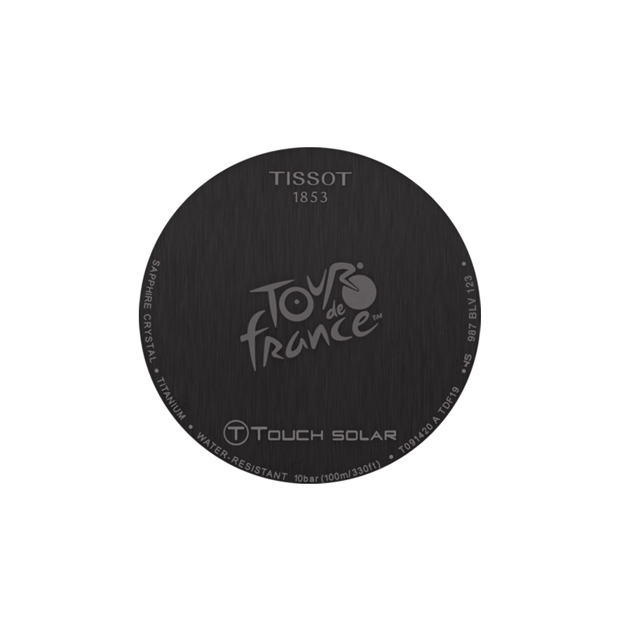 Tissot T091.420.47.057.04 zegarek męski T-TOUCH EXPERT SOLAR