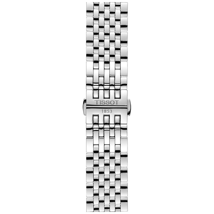 Tissot T063.428.11.038.00 męski zegarek Tradition bransoleta