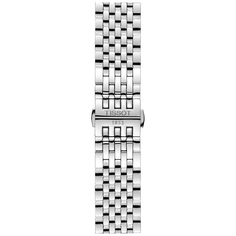 Tissot T063.428.11.058.00 męski zegarek Tradition bransoleta