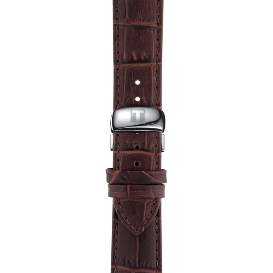 Tissot T063.610.16.037.00 męski zegarek Tradition pasek