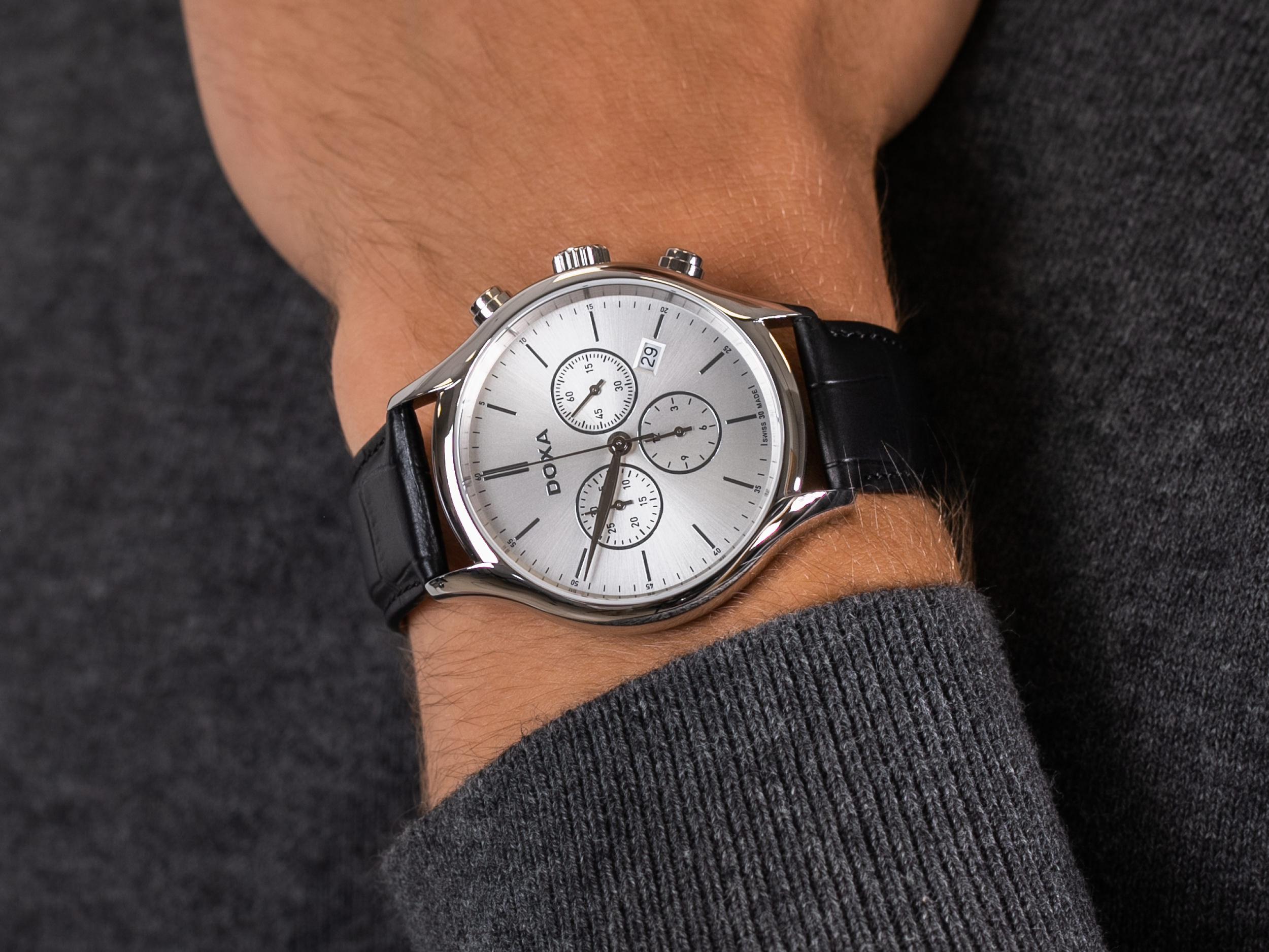 Doxa 218.10.021.01 zegarek klasyczny Challenge