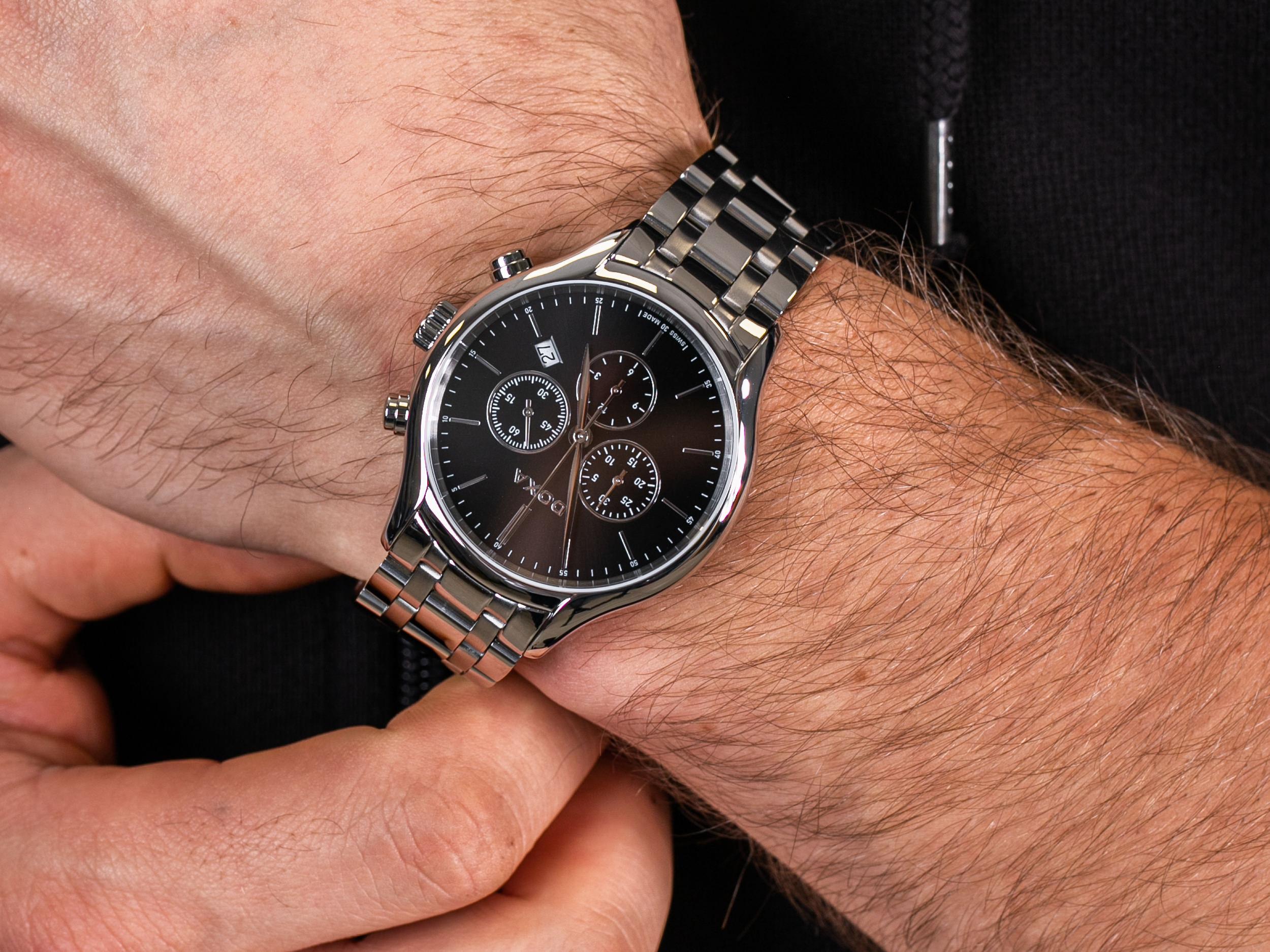 Doxa 218.10.101.10 zegarek klasyczny Challenge