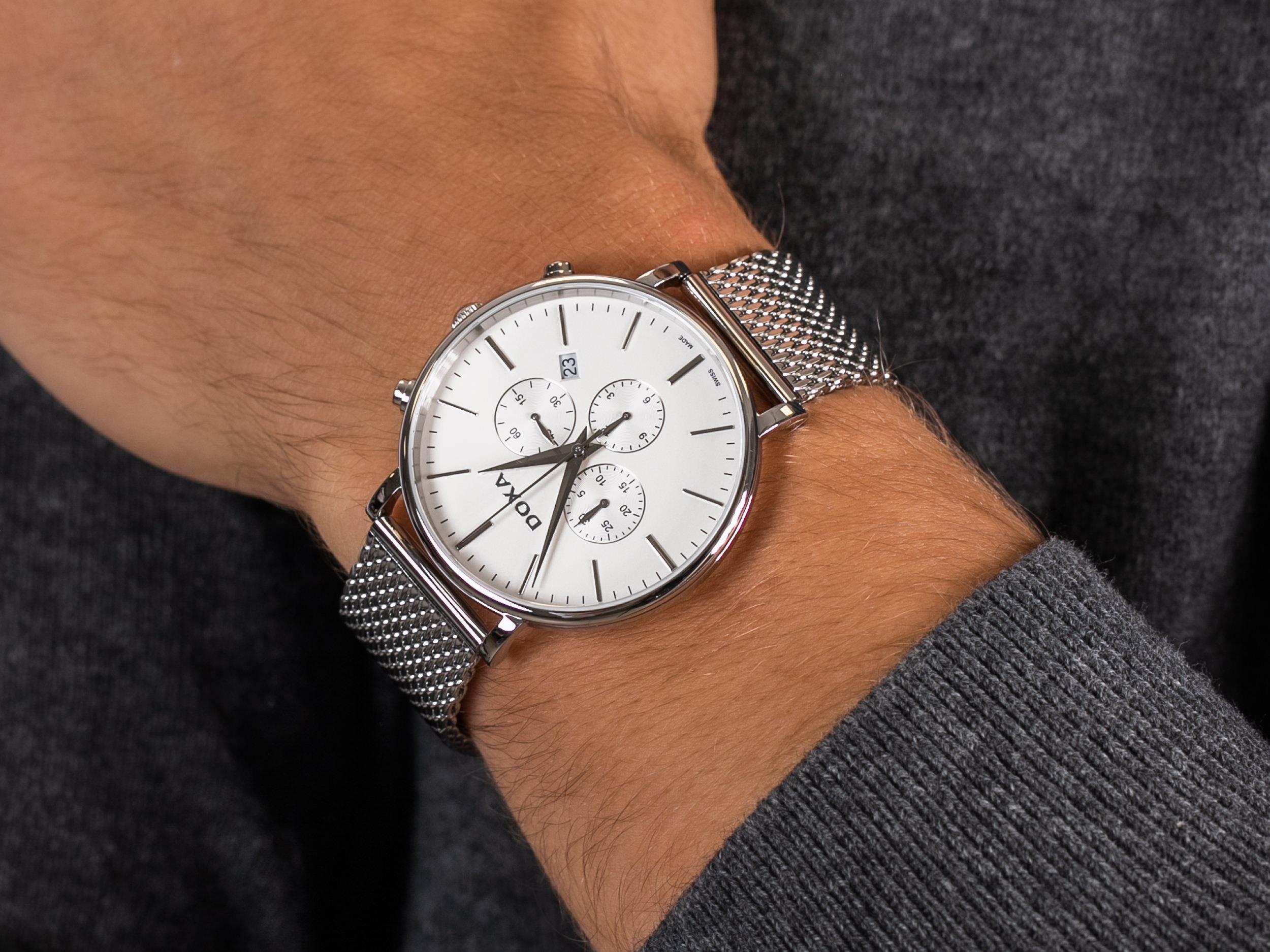 Doxa 172.10.011.2.10 zegarek klasyczny D-Light