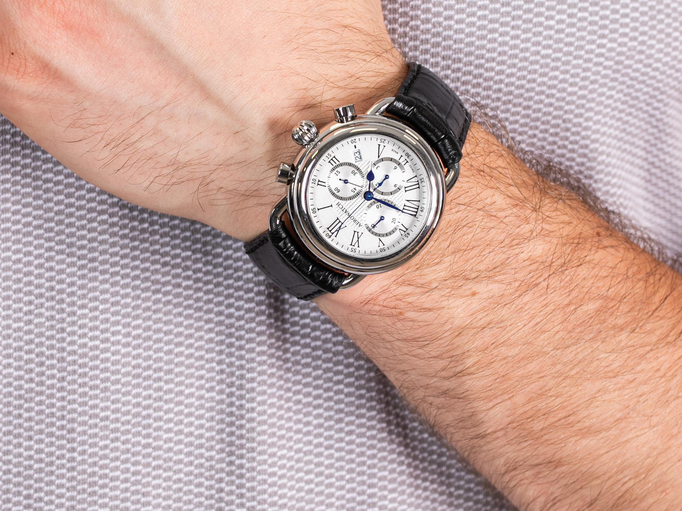 Aerowatch 84934-AA08 1942 CHRONO zegarek klasyczny 1942
