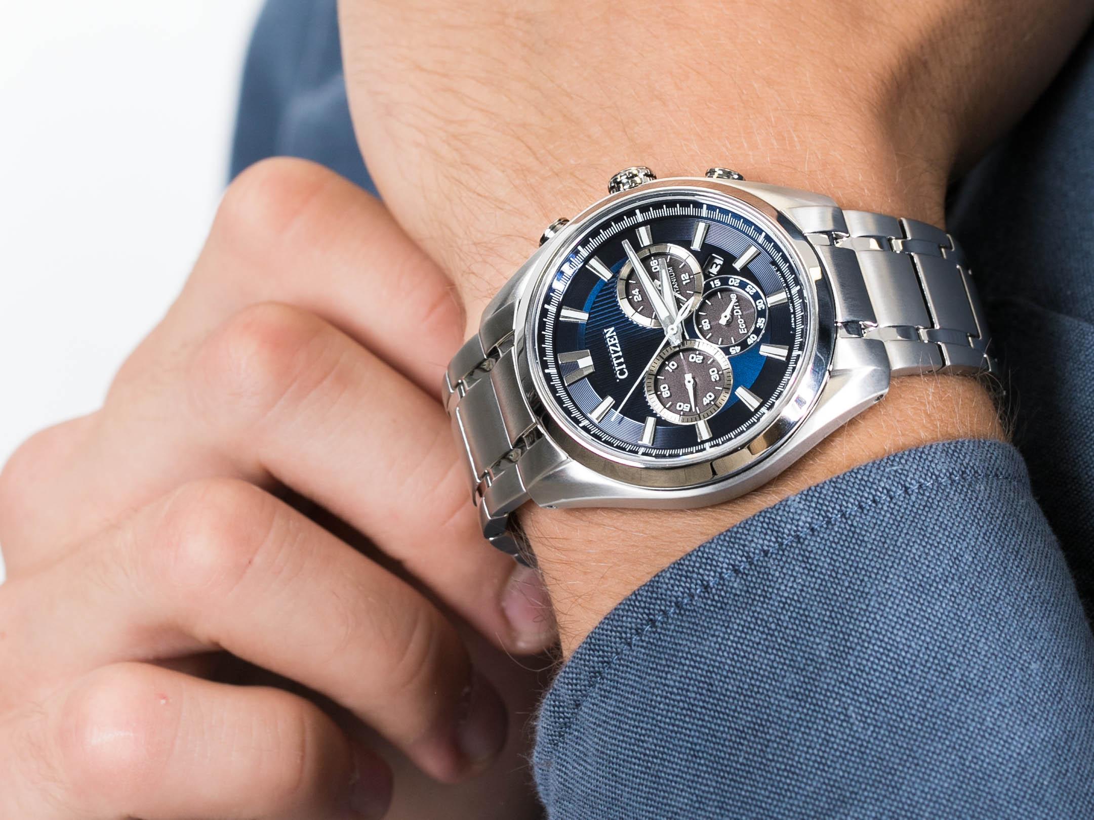 Citizen CA4010-58L zegarek klasyczny Titanium