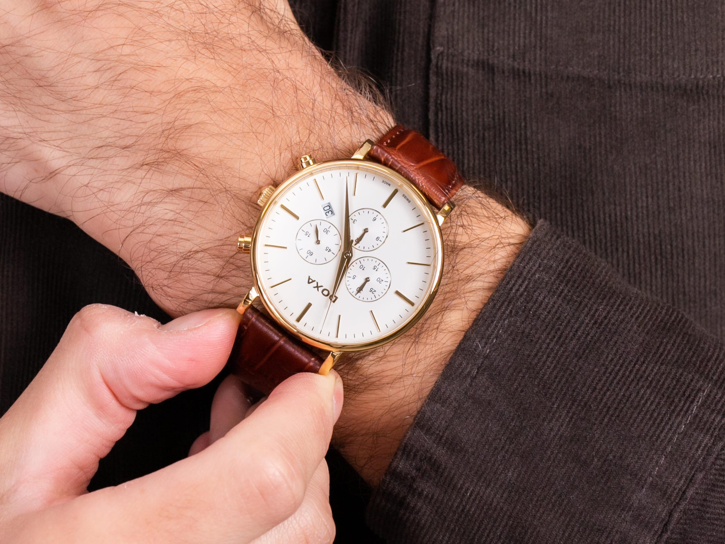 Doxa 172.30.011.02 zegarek klasyczny D-Light