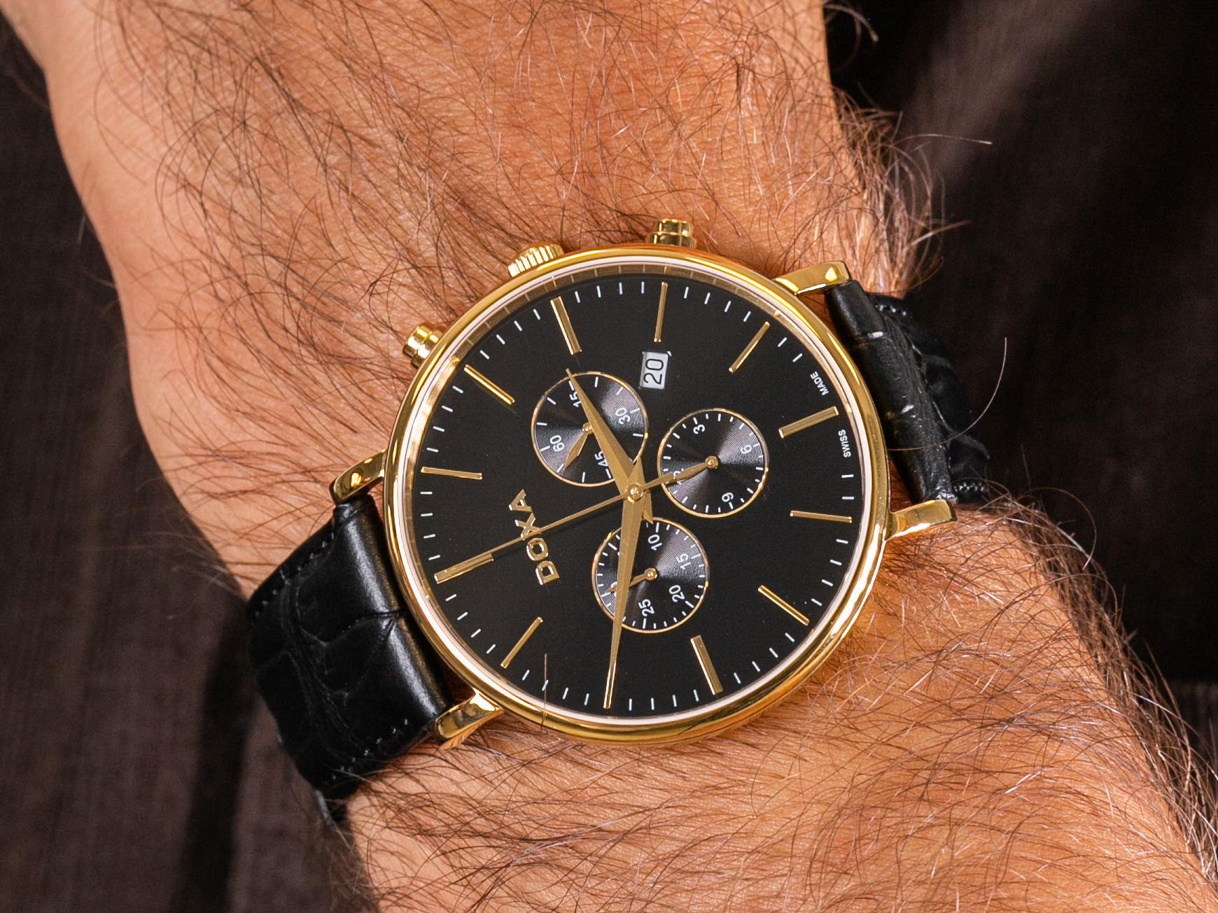Doxa 172.30.101.01 zegarek klasyczny D-Light