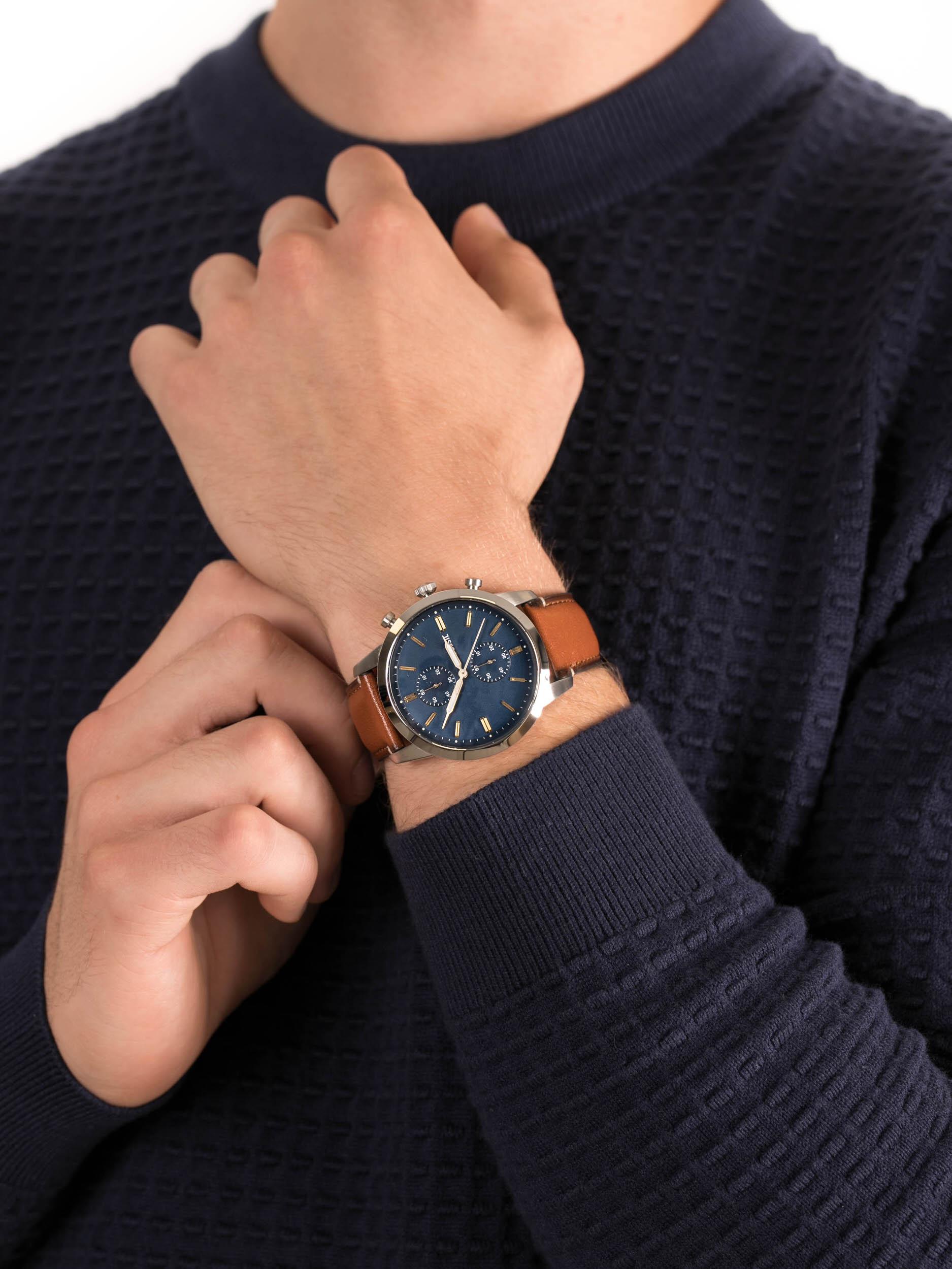 zegarek Fossil FS5279 44MM TOWNSMAN męski z chronograf Townsman