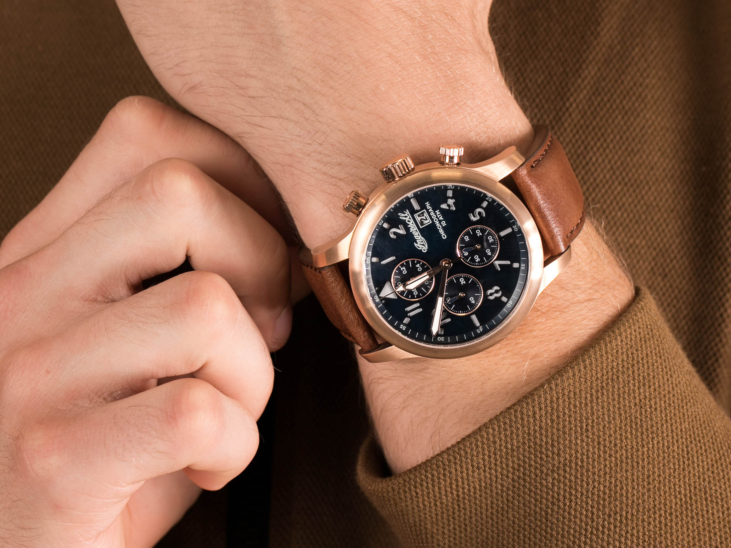 Ingersoll I01502 THE HATTON zegarek klasyczny The Hatton
