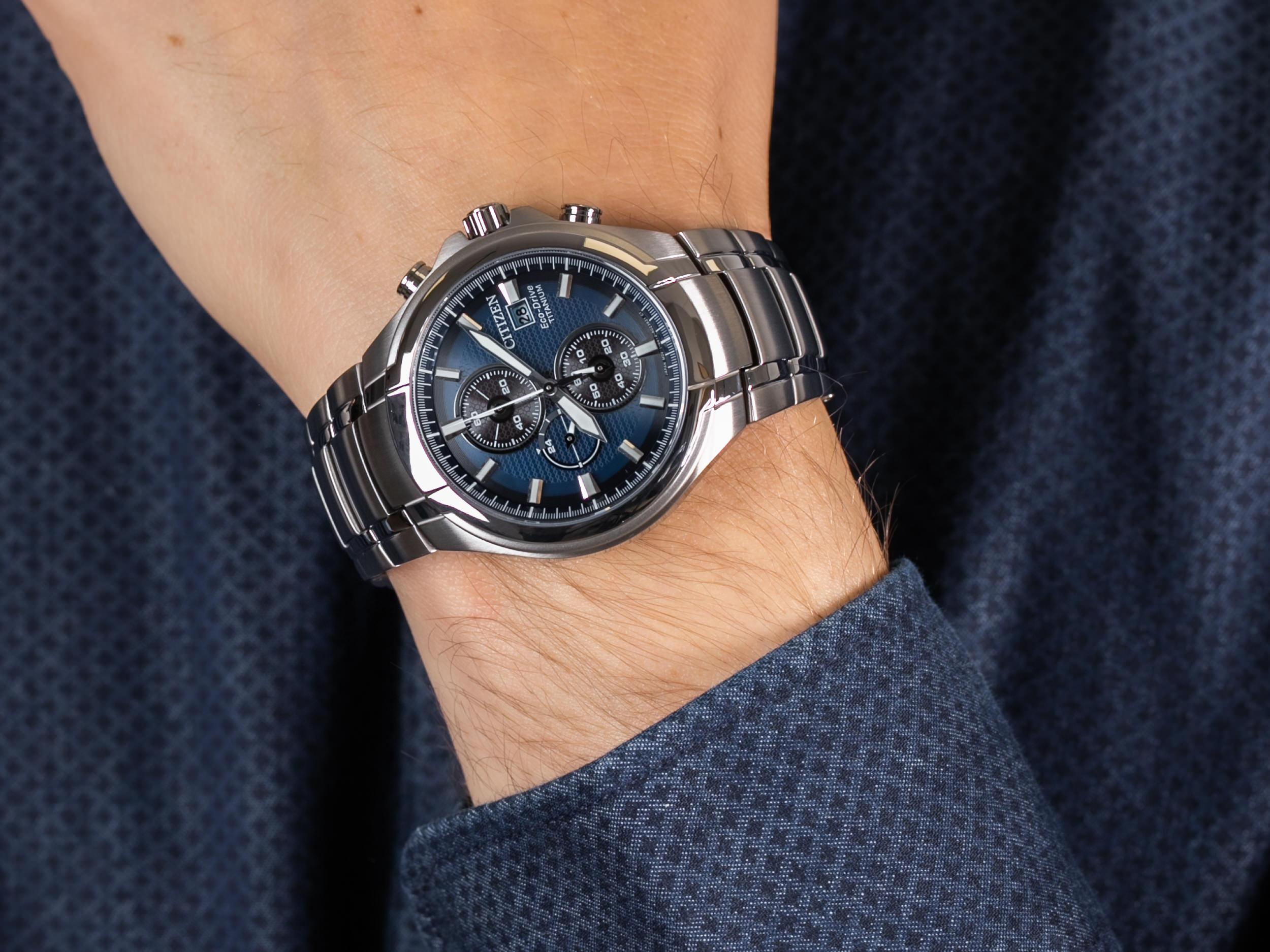 Citizen CA0700-86L zegarek klasyczny Titanium