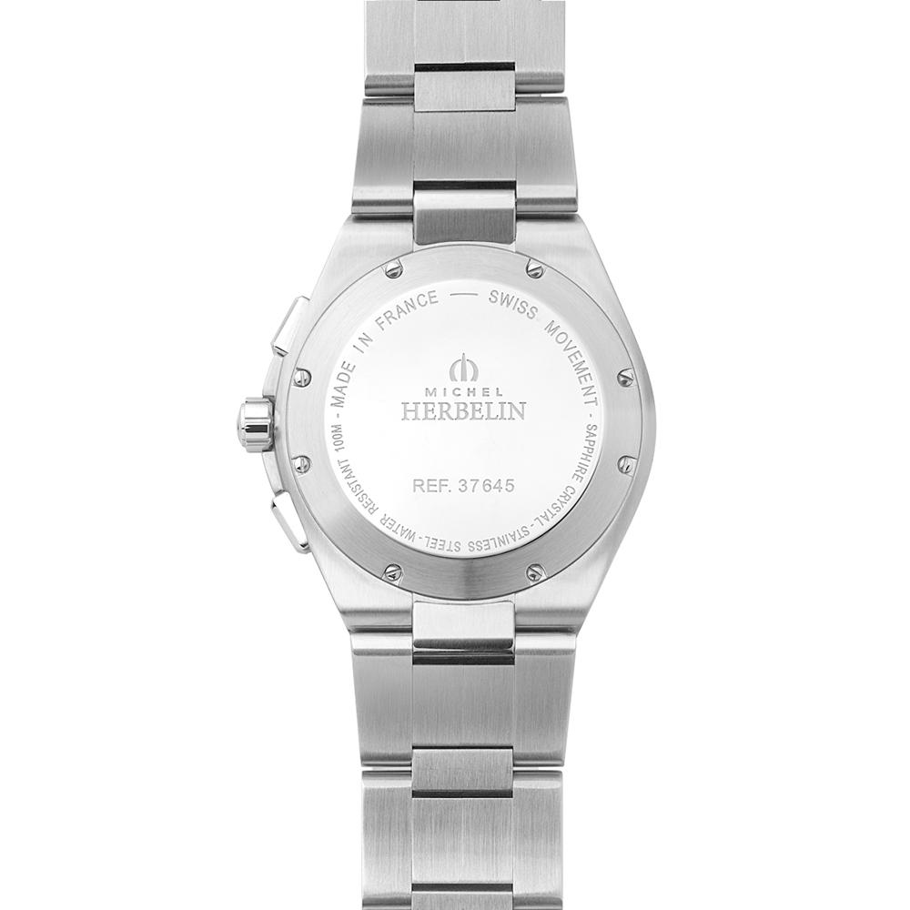 zegarek Michel Herbelin 37645/B42 męski z chronograf Cap Camarat